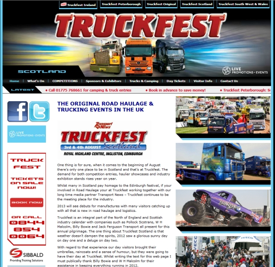 Truckfest Scotland